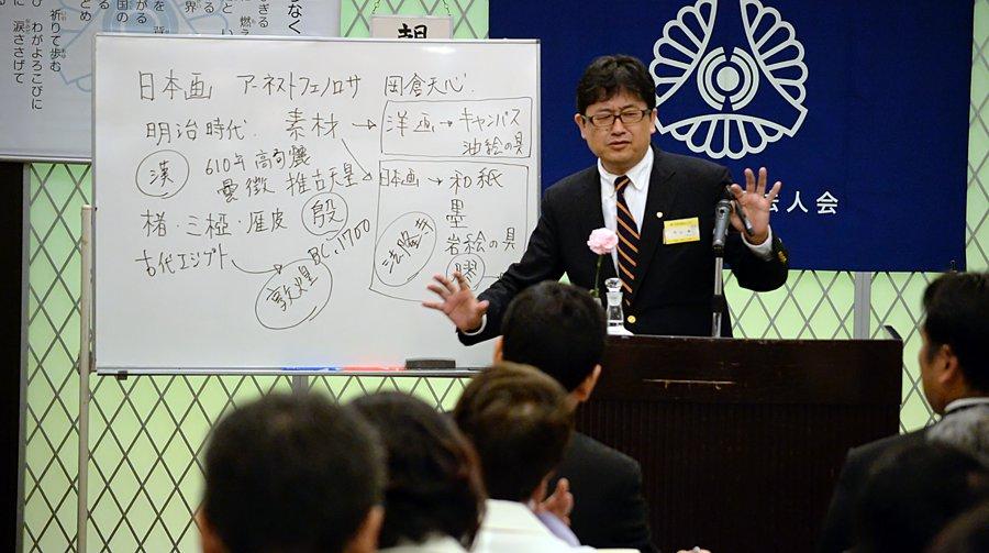 平塚市倫理法人会 会員 日本画家 内山徹